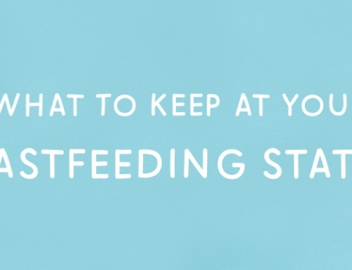 How To Create The Comfiest Breastfeeding Station